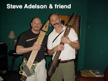Steve Adelson and Tony Levin